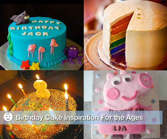 Baby Cakes: Birthday Cake Inspiration For the Ages