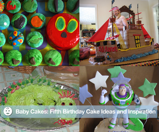 Fifth Birthday Cake Ideas and Inspiration