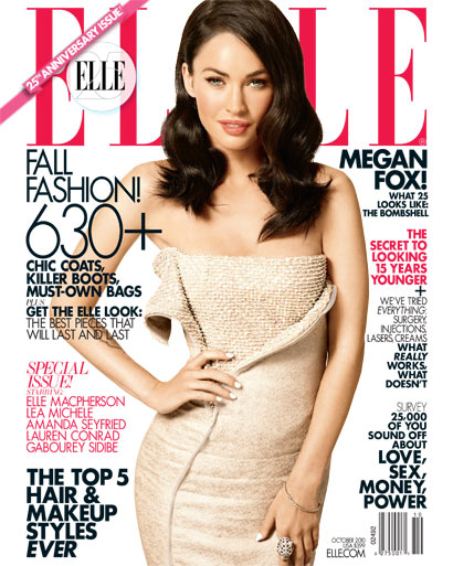 Megan Fox does Elle-october 2010