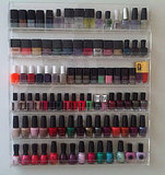 Which fashionable lady shared a pic of her impressive nail polish collection?