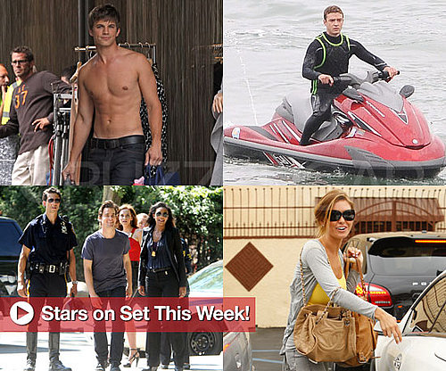 Pictures of Justin Timberlake, Matt Lanter, January Jones, and More Stars on Set This Week!