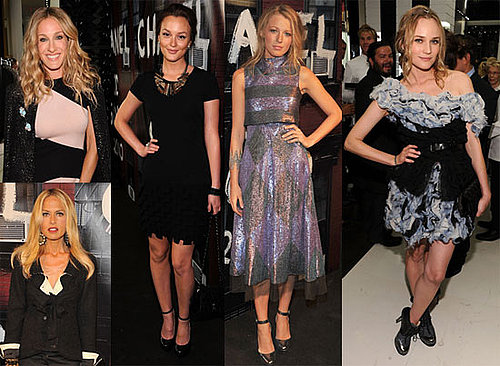 Pictures of  Rachel Bilson, Sarah Jessica Parker, Karl Lagerfeld, Diane Kruger, Rachel Zoe, Blake Lively at Chanel Party