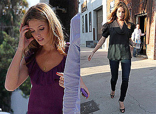 Pictures of Ashley Greene Leaving a Studio in LA