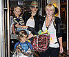 Slide Picture of Kingston, Gwen Stefani, Zuma in NYC For Fashion Week