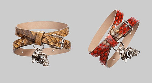 Alexander McQueen's Fashion Night Out Exclusive Bracelets