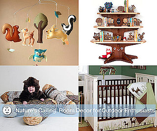 Nature-Themed Nursery Decor