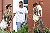 Pictures of George Clooney in Sardinia With Elisabetta Canalis