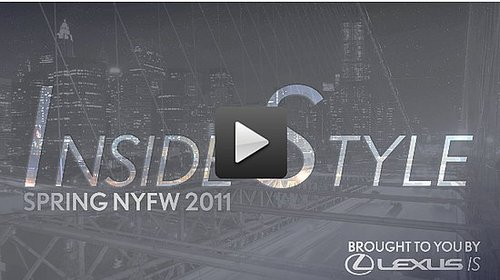 Video of New York Fashion Week Preparations