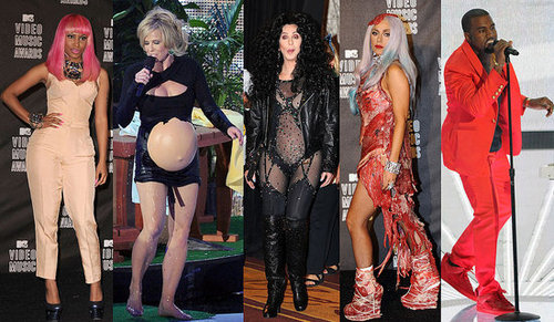 Who Wore the Most Outrageous Outfit on the VMA Stage Last Night?