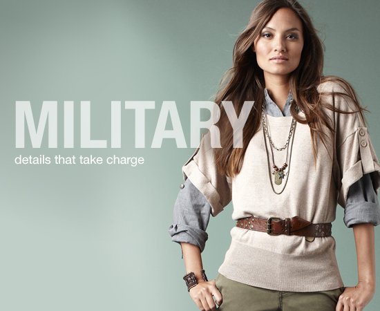 Ten-Hut! Share How You&#039;ll Tie Military Looks Into Your Style and Win $500!