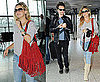 Pictures of Kate Hudson and Matt Bellamy at Heathrow Before Muse's West Coast Tour Dates