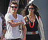 Slide Picture of Xavier Samuel and Shermine Shahrivar in NYC