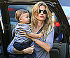 Slide Picture of Gisele Bundchen with Benjamin in New York 2010-09-15 07:30:30