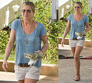 Pictures of Jennifer Aniston in Atlanta, GA Filming Wanderlust