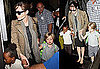 Pictures of Angelina Jolie, Shiloh Jolie-Pitt and Zahara Jolie-Pitt at LAX