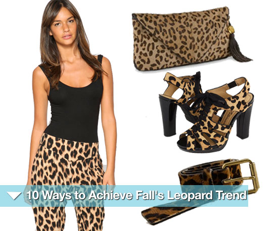 10 Ways to Achieve Fall's Wild Leopard Trend