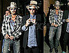 Pictures of Johnny Depp and Keith Richards In London