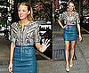 Blake Lively Arriving at Live With Regis and Kelly in NYC