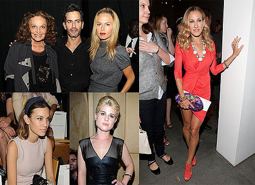 Sarah Jessica Parker, Rachel Zoe, Alexa Chung and More at 2011 Spring New York Fashion Week
