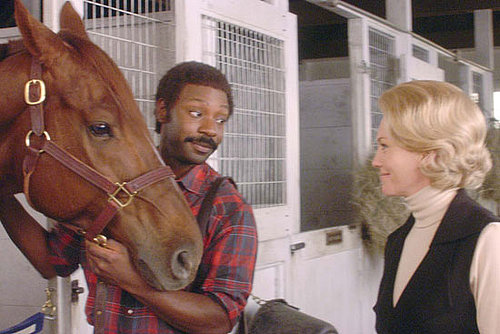 New Exclusive Photos From Disney's Secretariat With Diane Lane, Nelsan Ellis, and Kevin Connolly