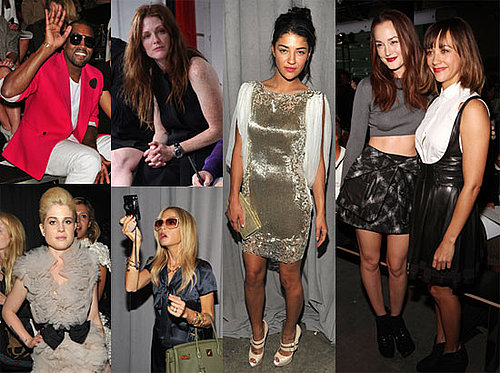 Pictures of Kanye West, Rachel Zoe, Leighton Meester, and More at 2011 Spring New York Fashion Week