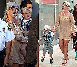 Pictures of Britney Spears, Jayden James, and Sean Preston Shopping in LA