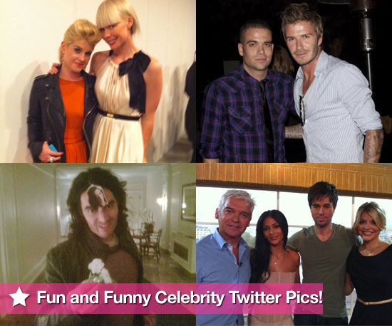 Twitter Pictures of Russell Brand, David Beckham, Kelly Osbourne, and More