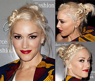 Gwen Stefani's Hair at the LAMB Show During 2011 Spring New York Fashion Week 2010-09-17 10:00:00