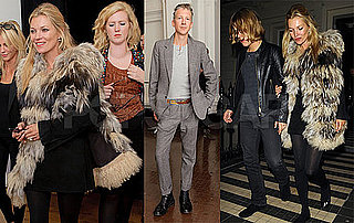 Pictures of Kate Moss and Jefferson Hack at the Launch of KM3D-1