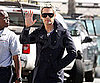 Slide Picture of Jared Leto Leaving Chelsea Lately Show