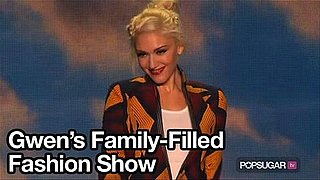 Video of Gwen Stefani Walking on the Runway With Kingston
