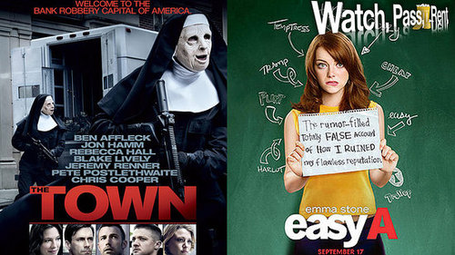 The Town and Easy A Video Reviews