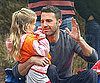 Slide Picture of Ben Affleck With Violet at Soccer Practice