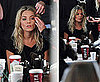 Sienna Miller Getting Ready For Twenty8Twelve London Fashion Week Show