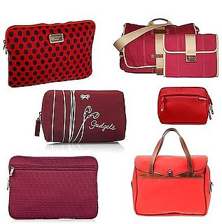 Red Laptop and Gadget Cases