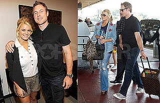 Pictures of Jessica Simpson in North Carolina With Eric Johnson