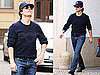 Pictures of Tom Cruise in Prague