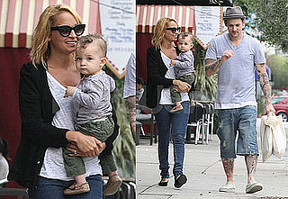 Pictures of Nicole Richie and Joel Madden With Sparrow in LA 2010-09-22 07:00:21