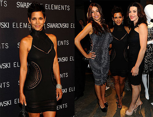 Halle Berry, Sofia Vergara and Julianna Margulies at a Swarovski Charity Event in NYC
