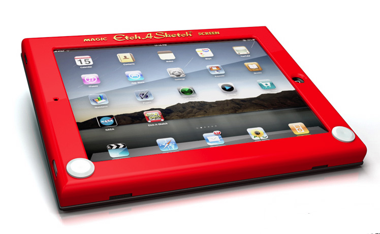 Photos of Etch-a-Sketch iPad Case