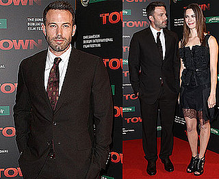 Pictures from The Town Premiere with Ben Affleck and Rebecca Hall in Dublin