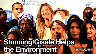 Video of Gisele Bundchen at UN Summit in New York City