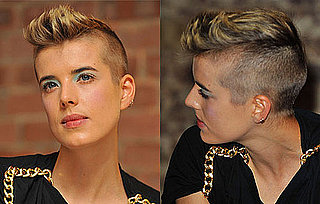 Pictures of Agyness Deyn With a Mohawk