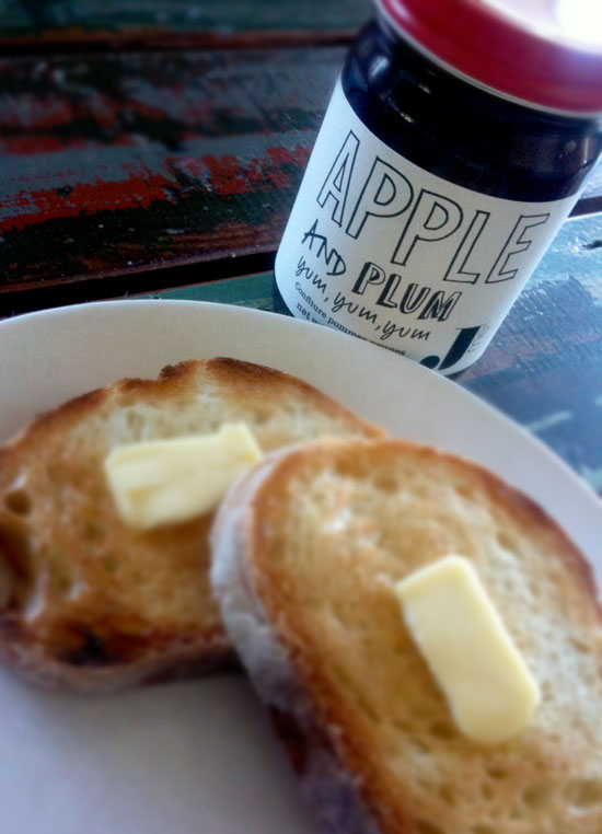Apple Plum Jam ($15)