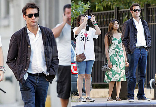 Pictures of Clive Owen in NYC With His Daughter Hannah