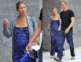 Pictures of Pregnant Christina Applegate Running Errands With Her Boyfriend Martyn LeNoble