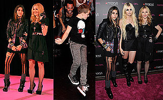 Pictures of Madonna, Taylor Momsen, and Lourdes Leon at the Launch of Material Girl 2010-09-23 07:00:00