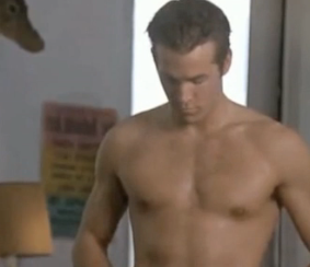 Video of Ryan Reynolds Shirtless in Buying the Cow