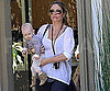 Slide Picture of Rebecca Gayheart With Billie in LA