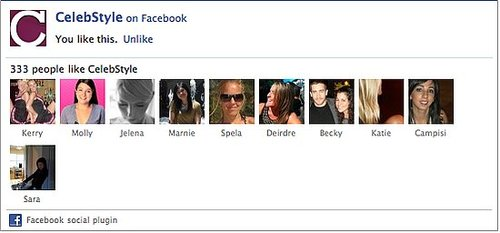 Love CelebStyle? Like Us on Facebook!